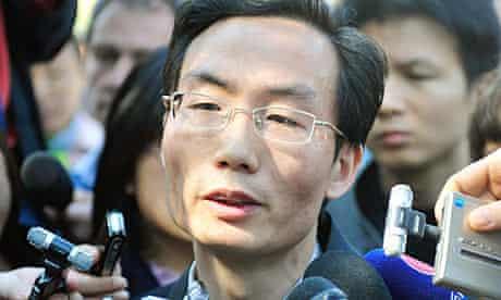 Chinese human rights lawyer Li Fangping