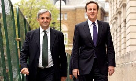 David Cameron and AV Lib Dems