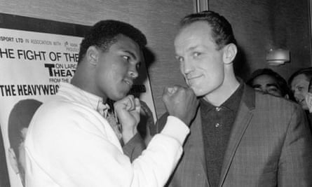 Muhammad Ali and Henry Cooper