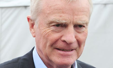 Max Mosley, whose campaign for tighter privacy laws followed revelations about his sex life