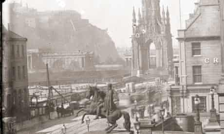 Some of Thomas Begbie's pictures of Edinburgh will go on display from Saturday in the City Art Centre