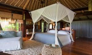 North Island resort in the Seychelles