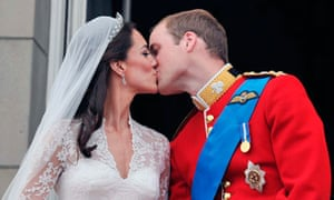 Britain's Prince William and his wife Catherine,