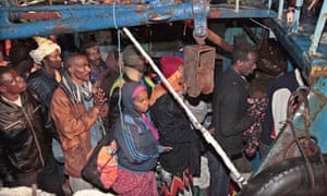 Lampedusa Libya migrants