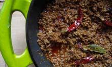 Joe Cooper's chilli