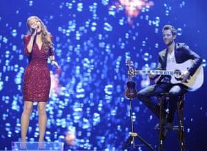 eurovision semi final 1: Switzerland: Anna Rossinelli