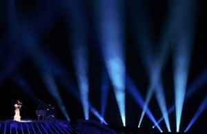 eurovision semi final 1: Evelina Sasenko of Lithuania