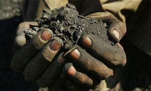Coal mining in Karkar, Afghanistan