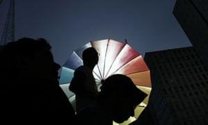Gay pride in Sao Paulo, Brazil, 2010