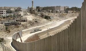 West Bank barrier