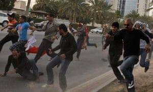 Bahrain's state-owned oil company has fired nearly 300 workers after anti-government demonstrations