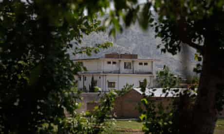 The compound where Osama bin Laden was killed in Abbottabad, Pakistan.