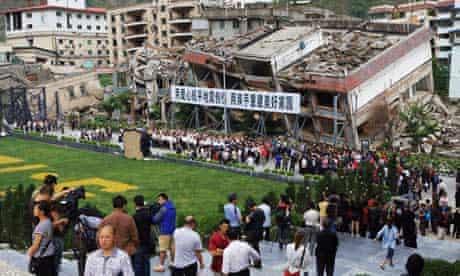 China Sichuan earthquake 3rd anniversary