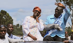 Forum for Democratic Change leader, Kizza Besigye