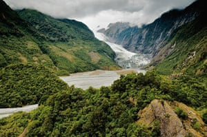 Disappearing world: Franz Josef Glacier, South Island, New Zealand.