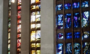 Nave windows at Coventry Cathedral