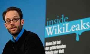 Daniel Domscheit-Berg, formerly of WikiLeaks