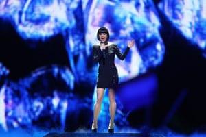 Eurovision Semi Finals: Nadine Beiler of Austria