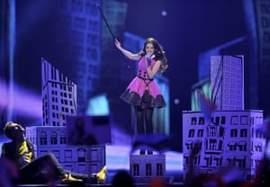 Eurovision Semi Finals: Getter Jaani representing Estonia