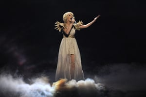 Eurovision semi finals: Ukraine, Mika Nelson performs Angel