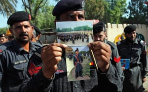 Pakistan Bomb Attacks: Security official shows photographs he found in luggage after the bombing