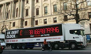 Taxpayers' Alliance debt clock