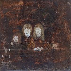Beryl Bainbridge painting: Rudi, Aaron and Jojo