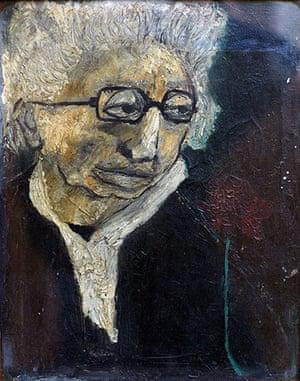 Beryl Bainbridge painting: Leah