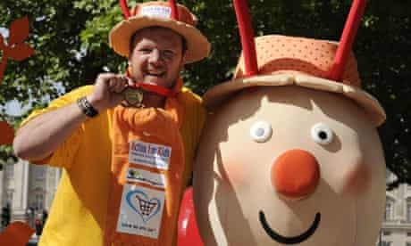 Snail finishes London Marathon