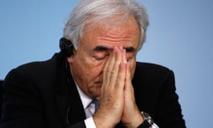 Dominique Strauss-Kahn, head of the IMF