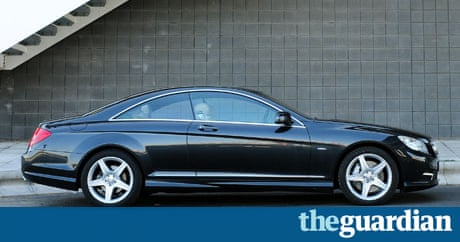 On The Road Mercedes Benz Cl500 Technology The Guardian