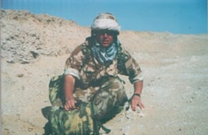 Vaughan Smith during the Gulf war