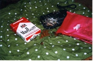 The contents of Vaughan Smith's bumbag