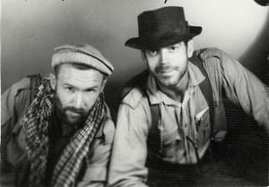 Rory Peck and Tony Davis in Afghanistan