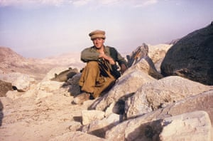 Colin Peck in Afghanistan