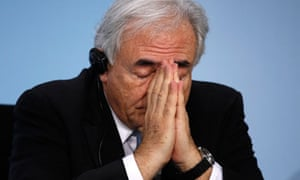 File photo of IMF Managing Director Strauss-Kahn