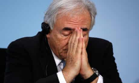 File photo of IMF Managing Director Strauss-Kahn