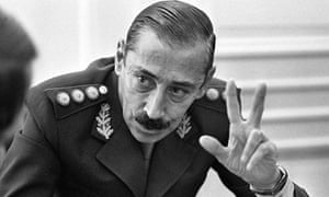 General Jorge Videla, who seized power in Argentina in 1976