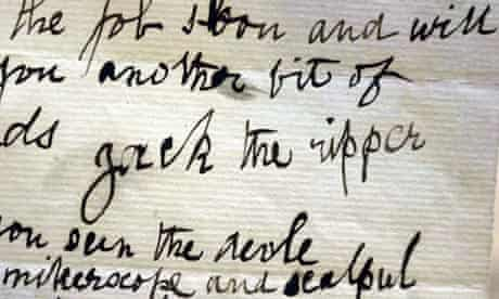 Jack the Ripper letter 1888