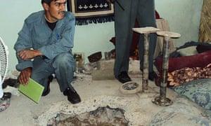 Kandahar prison tunnel