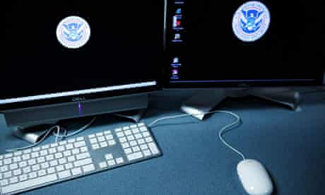 US department of homeland security computer terminals