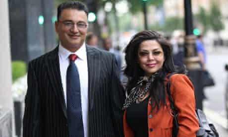 Former Metropolitan police commander Ali Dizaei and his wife Shy