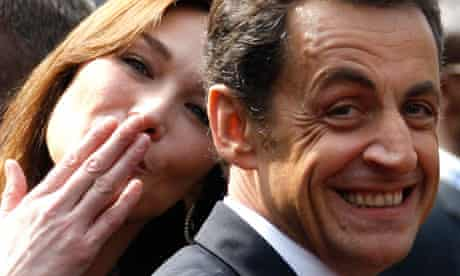 Carla Bruni Sarkozy And The Family Way Of Hollowed Out Politics Nicolas Sarkozy The Guardian