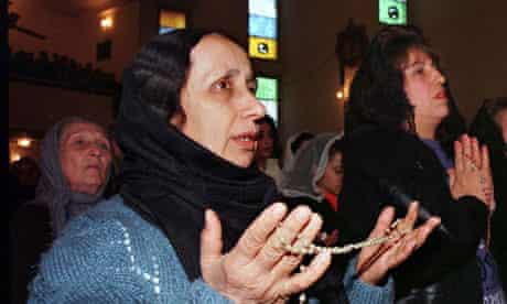 Iraq's Christian community pray