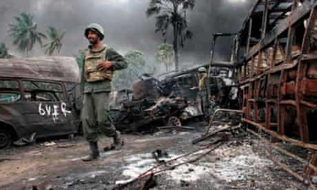 Sri Lankan troops crush Tamils to end 26-year conflict