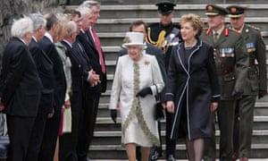 Queen Elizabeth - Garden of Remembrance Dublin