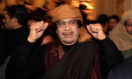 Gaddafi in March 2011