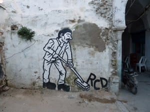 Tunisia graffiti: Tunis murals and zoo project