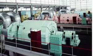 Calder Hall atomic power plant