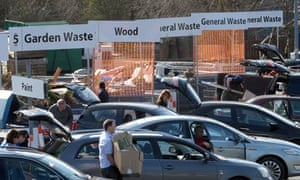 A household recycling centre